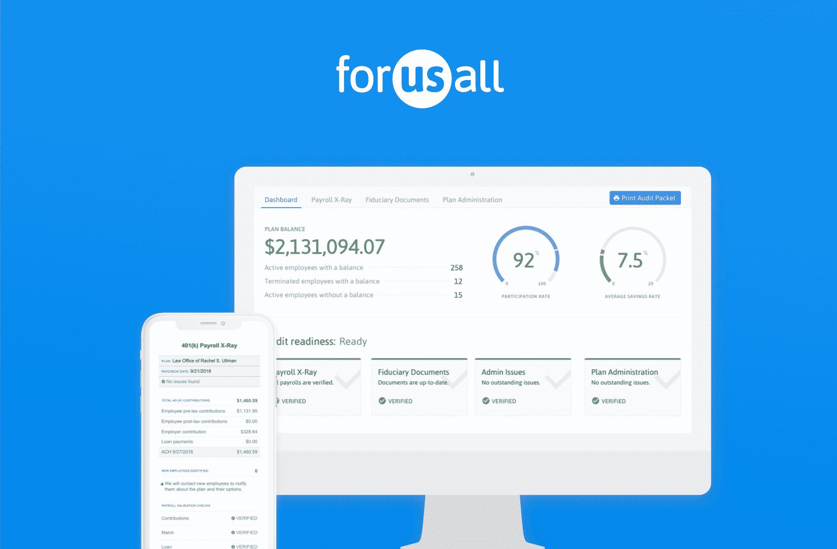 forusall dashboard