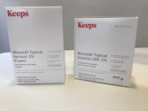 Keeps Minoxidil