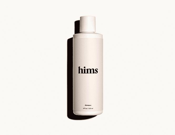 hims DHT shampoo bottle