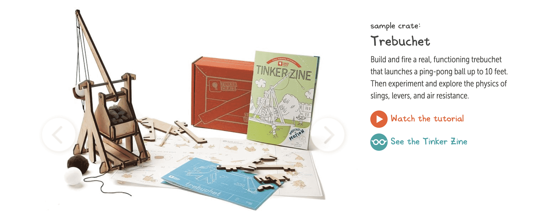 Tinker Crate from KiwiCo