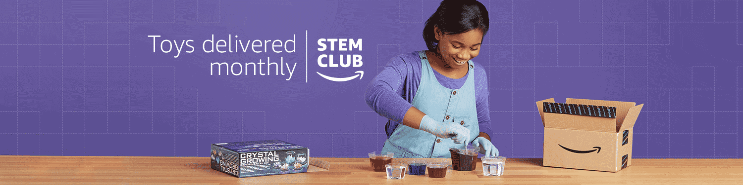 amazon stem club logo