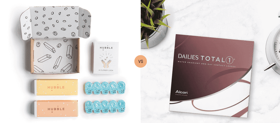 Hubble vs Dailies: Which Daily Contact Lenses are Best?