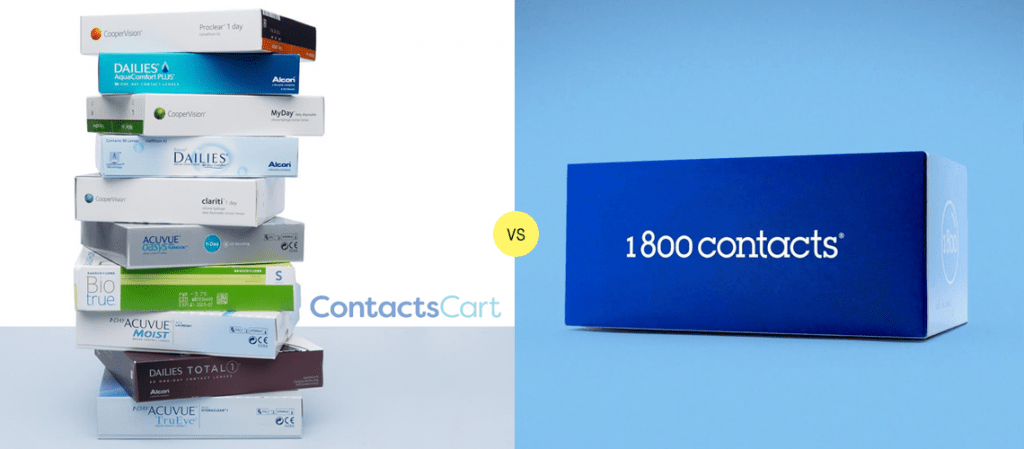 ContactsCart vs 1800 Contacts