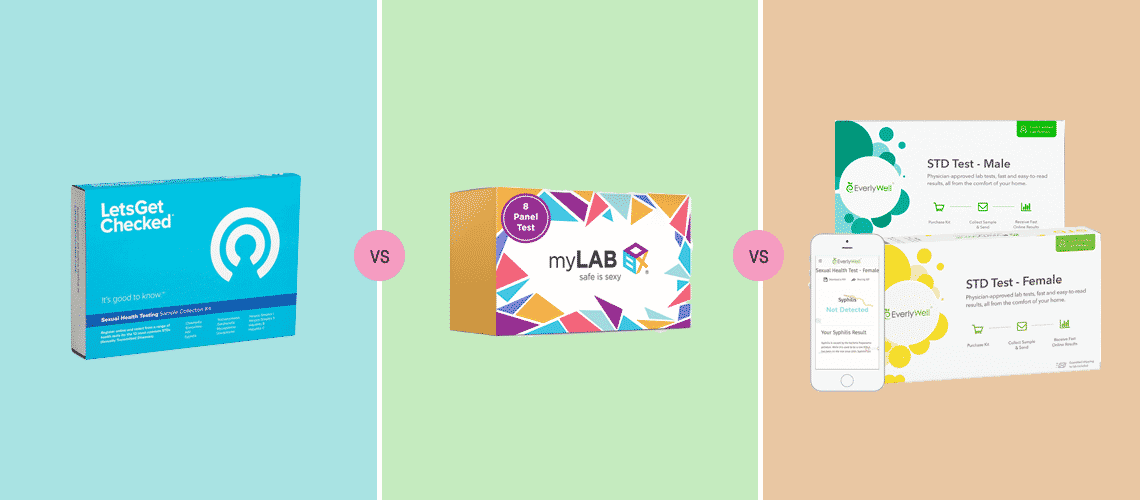 LetsGetChecked vs myLAB Box vs Everlywell