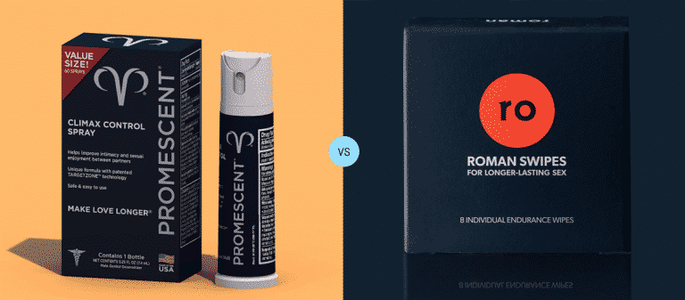 Promescent vs Roman Swipes Reviews - Topical PE Treatments