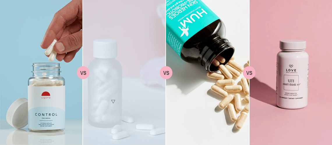 Uqora vs Wisp vs HUM vs Love Wellness – Best UTI Prevention Pills