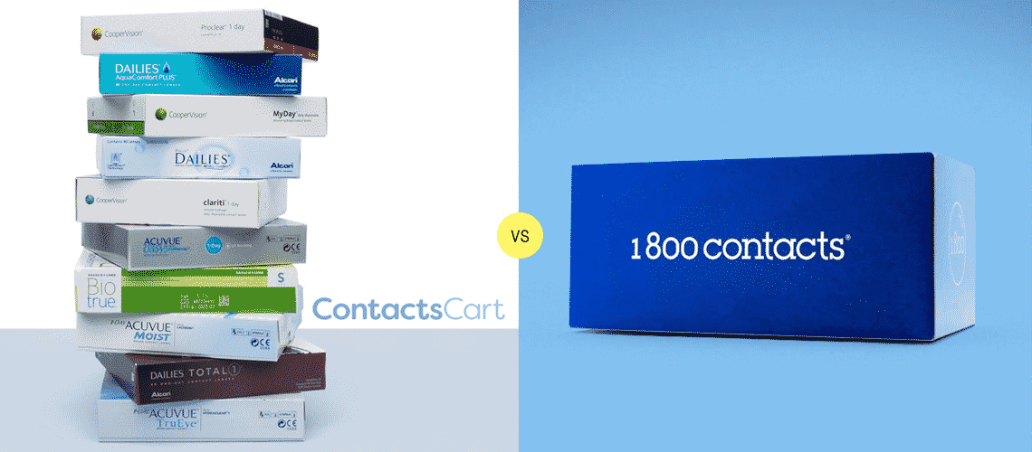 ContactsCart vs 1800 Contacts