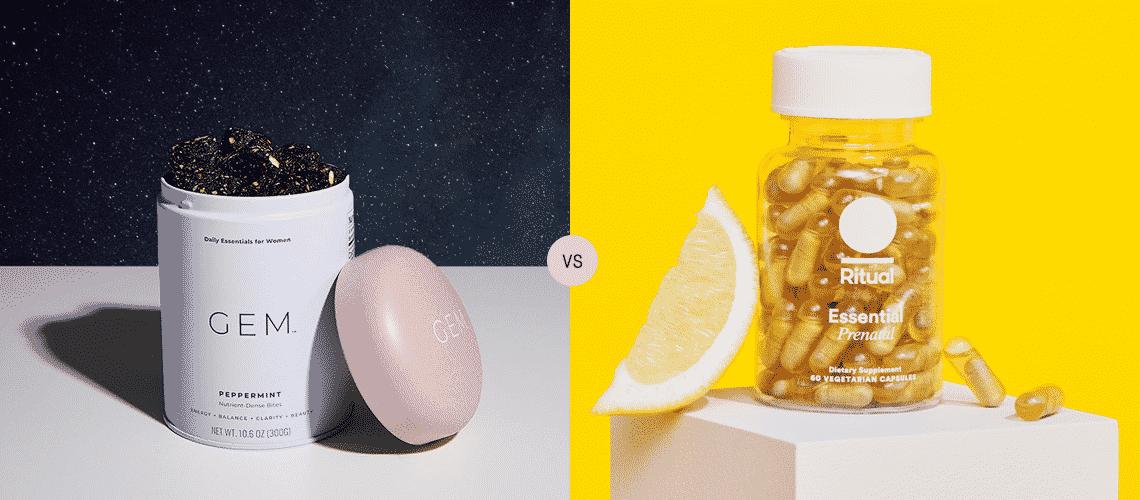 GEM Vitamins vs Ritual Prenatal Reviews