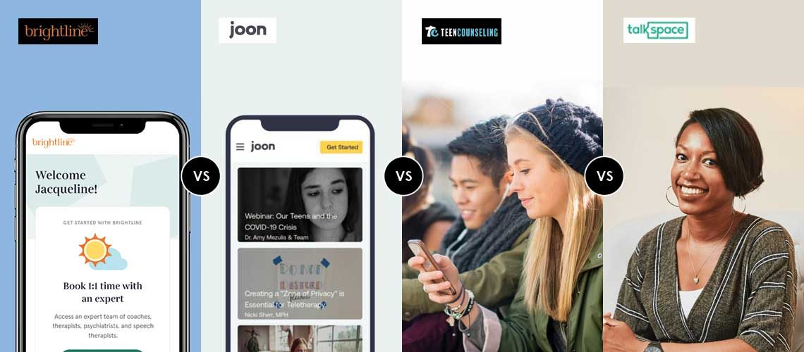 Joon vs Brightline vs Talkspace vs TeenCounseling.com What's the Best Online Therapy for Teens