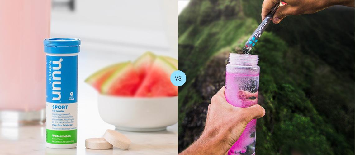 Nuun vs DripDrop Reviews: Comparing Hydration Mixtures