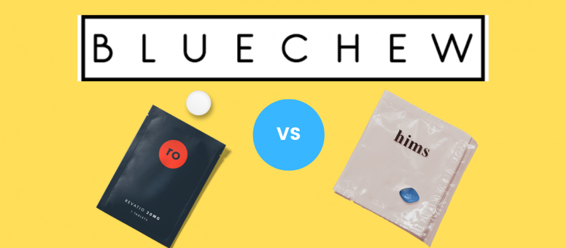 Blue Chew vs Roman vs Hims