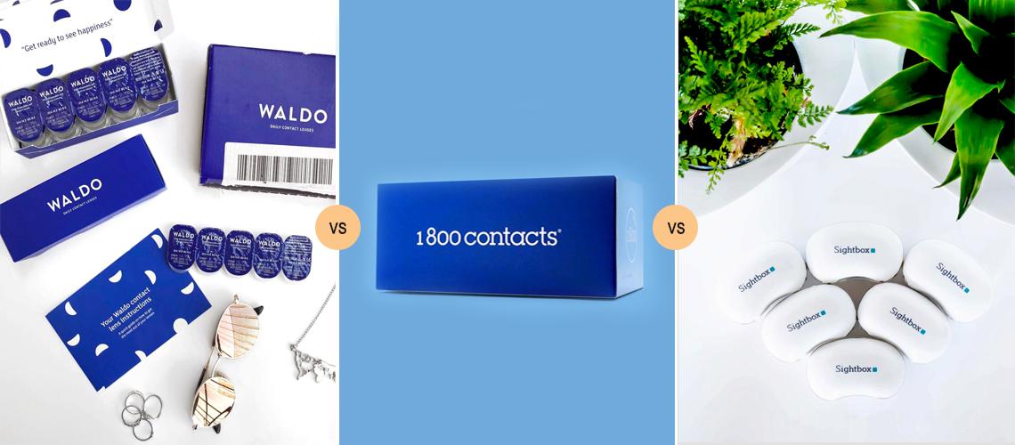 waldo vs 1800 contacts