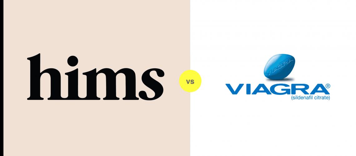 Hims vs Viagra for ED