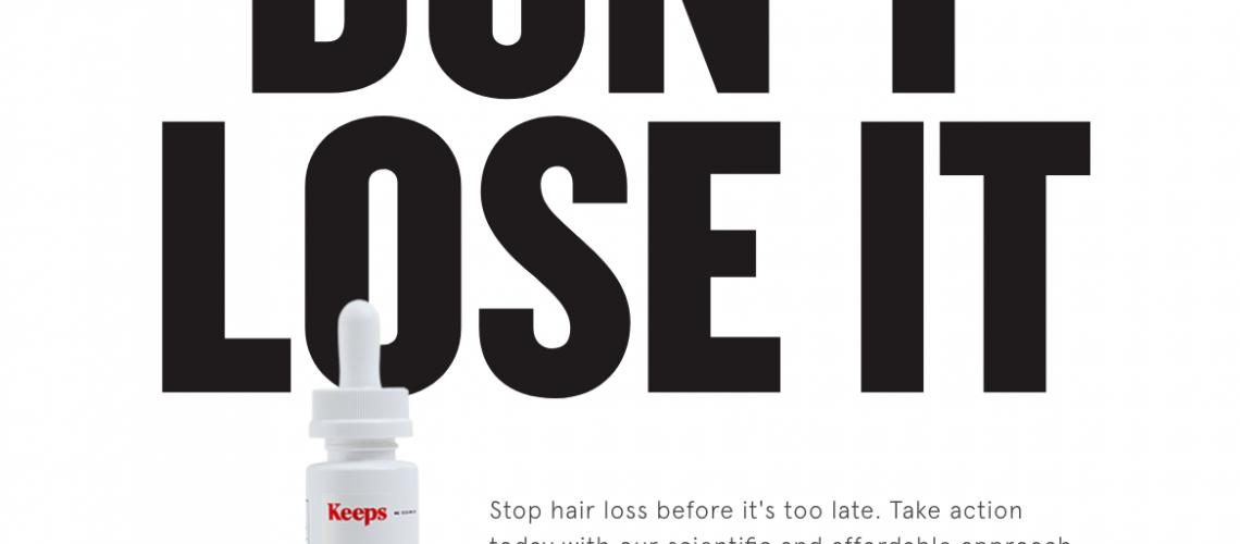 keeps hair loss review
